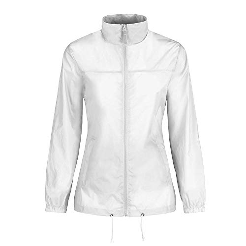 B&C - Ladies Windbreaker 'Sirocco Woman' L,White -