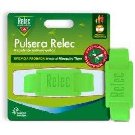 RELEC Pulsera Repelente Antimosquitos Verde Flúor