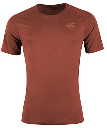 Canterbury vapodri + Poly Superlight S Logo Tee L rot - Compression L/s Tee
