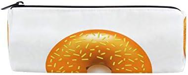 Montoj Trousse à maquillage Motif donut donut donut doré avec bonbons Kawaii | Art Exquis  3072cc