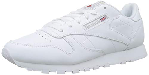d9515c73f Reebok Classic Leather Zapatillas, Mujer, Blanco, 38.5 EU / 5.5 UK / 8
