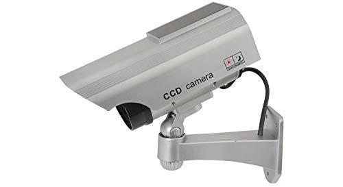 MERCURY Quecksilber | solarbetrieben Professionelle Dummy CCTV Kamera (Professionelle Cctv-kamera)