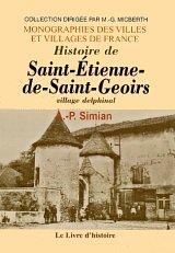 Histoire de Saint-Etienne-de-Saint-Geoirs