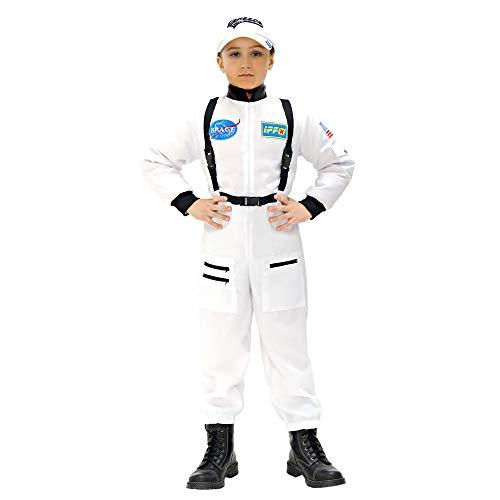 Kid Astronauten Kostüm - Widmann 11006 - Kinderkostüm Astronaut, Overall, 128