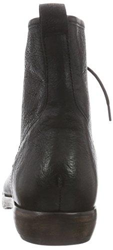 Cinque Roberto-01, Boots non doublées - Style combat homme Noir - Noir