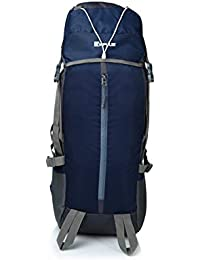 Impulse 65 Ltrs Blue Trekking Backpack (Thriller 65 LTR N Blue)
