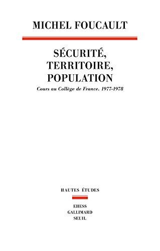 Sécurité, Territoire, Population