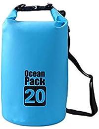 Vepson PVC 20 L Waterproof Ocean Pack Dry Sack Storage Bag Organizer