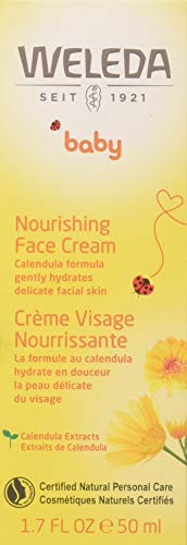 WELEDA Baby Calendula Gesichtscreme (1 x 50 ml) - pflegend, schützend