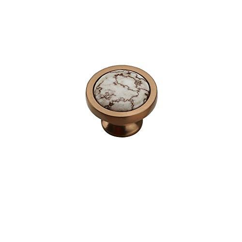 Manija de cerámica, manija del gabinete, manija de la Puerta del gabinete, manija del cajón Antiguo/Estilo: A, Tamaño: 37mm * 27mm