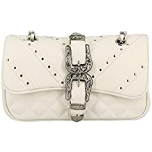 fa32e25b79 Mia Bag Borsa 18123 100 Tracolla Media Texas termoformato Bianco ss18