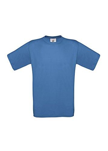 B&CHerren T-Shirt Azurblau