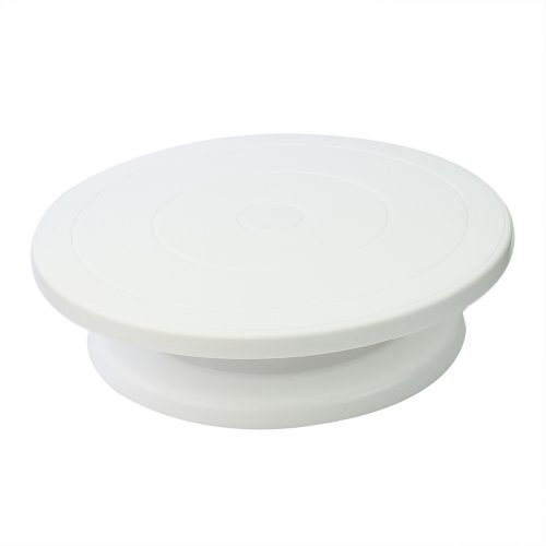 Alzata Supporto Gira Torta Dolci Pasta di Zuccherro Piatto GIREVOLE