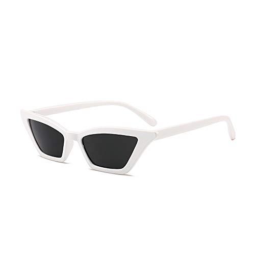 Eye-nak Sonnenbrillen Katzenaugen-Damen-Sonnenbrillengläser Damen Vintage Cat Eye Sonnenbrillen Retro Eyewear Fashion Ladies (C7)