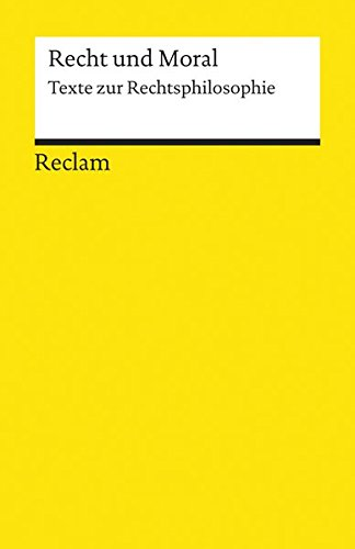 Recht und Moral (Reclams Universal-Bibliothek)
