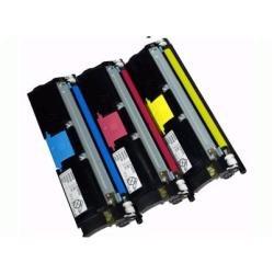 QMS Konica Minolta Magicolor 2400 2430 2500 2450 2400W 2550 2500W Colour Laser Printer Series Standard-Capacity Toner Cartridge - Cyan BLUE