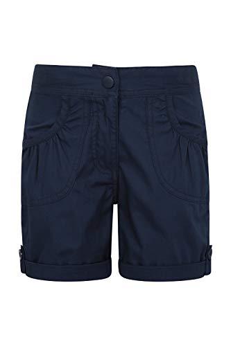 Mountain Warehouse Shore Shorts für Mädchen - Kindershorts aus 100% Baumwolle, Kurze Atmungsaktive Hose, Strand Shorts - Lässige Shorts für Den Sommer & Urlaube Marineblau 164 (13 Jahre)