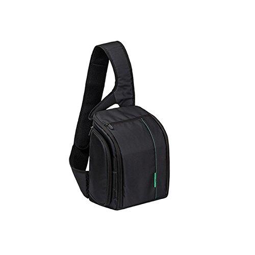 Light Weight Fashion Casual DSLR Camera Bag Case Messenger Shoulder Bag Fit Canon, Nikon, Sony, Samsung, Panasonic, Pentax Camera and Camera Accessories