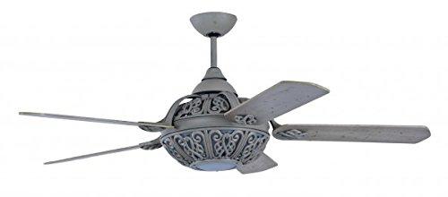 Pepeo Retro Santa - Ventilador de techo con luz e interruptor de...