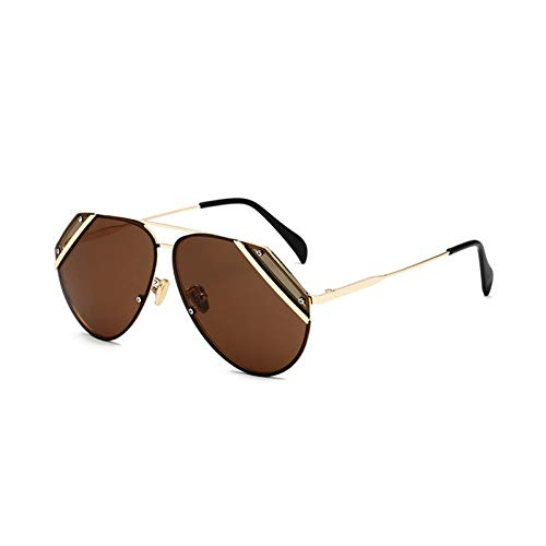 45b5d97e3f19bf Chudanba Frauen Sonnenbrillen Mode Oval Brillengläser Legierung  Sonnenbrillen Rahmen Sonnenbrille Frauen Schneiden Objektiv