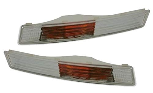 AD Tuning GmbH & Co. KG DEPO Frontblinker Set Links + rechts in Klarglas Chrom Blinker