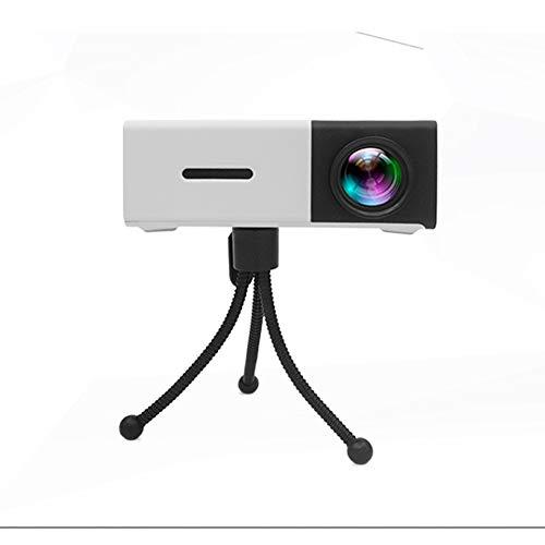 Ydq Wireless WiFi Videoprojektor 1200 Lumen Full HD LCD Heimkino Projektor 1080P Portable Mini LCD Film Videoprojektor Mit HDMI/USB / VGA/AV Eingang Android Phone PC Laptop
