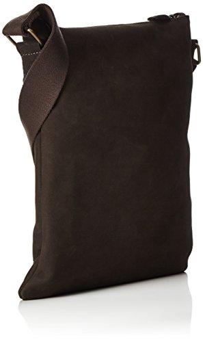 Timberland Herren Tb0m5339 Schultertasche, 1x30x27 cm Schwarz (Black Coffee)