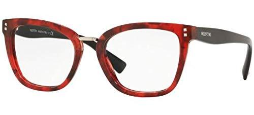 Valentino Brillen VA 3026 RED HAVANA Damenbrillen