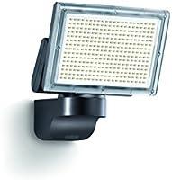 Steinel LED-Strahler XLED Home 3 Slave schwarz, LED-Scheinwerfer mit 18 Watt und 1426 lm,  180° horizontal und 120° vertikal schwenkbare Lichtpanel, Ideal für Zufahrten, Innenhöfe und Gärten, 006884