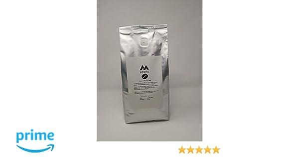 chicchi di caffè verde harrar etiopico