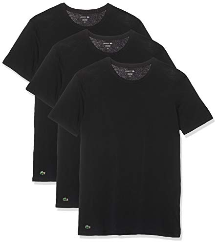 Lacoste RAME106 t-shirt  lot de 3 ,  (Blanc 001), Small (Taille fabricant:S) Homm