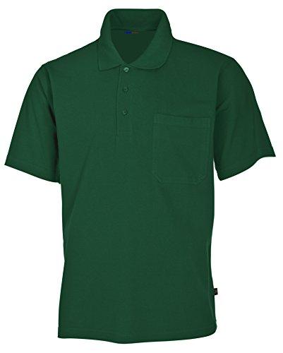 clinicfashion Polo-Shirt Unisex für Damen und Herren, grün, Brusttasche, Baumwolle, Größe S-XXXL Grün