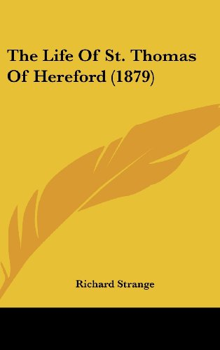 The Life of St. Thomas of Hereford (1879)