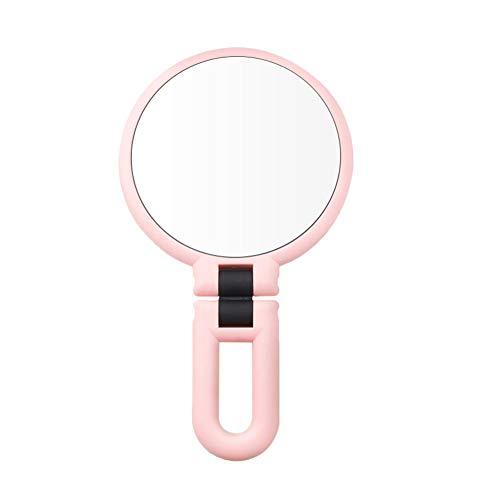Falliback Doppelseitiger Make-up-Spiegel, doppelseitige Vergrößerung, 15-fache Vergrößerung,...