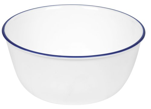 Corelle Livingware Super Suppen-/Müslischale, 71 ml, Marineblau Coupe Cereal Bowl