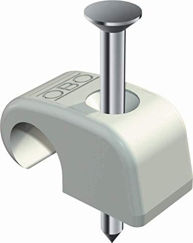 Nagelschelle 7-12 mm, mit 35 mm Nagel (600 Stück Nagelschelle)