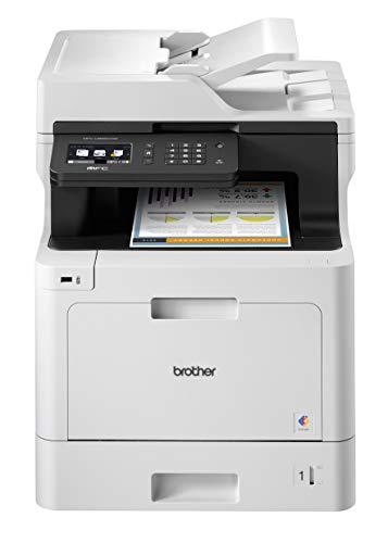 Brother MFC-L8690CDW Imprimante Multifonction Laser | Couleur | Sans fil | A4 | Recto-Verso...