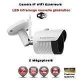TUBE IP WIFI ANTI-VANDAL IR 30M ONVIF SONY 1080P 2.4 MP / REF : EC-C3MP30W - CAMÉRA DE VIDÉO SURVEILLANCE NUMÉRIQUE IP - vidéo surveillance