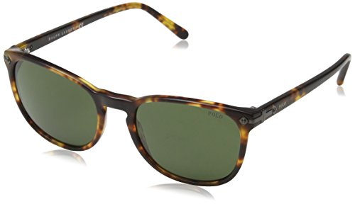 Polo Ralph Lauren Herren PH4107 Sonnenbrille, Braun (Havana 535171), One size (Herstellergröße: 53)