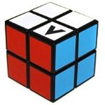 Cubo Magico V-CUBE 2x2 (negro) - original Verdes 2x2x2 Speedcube