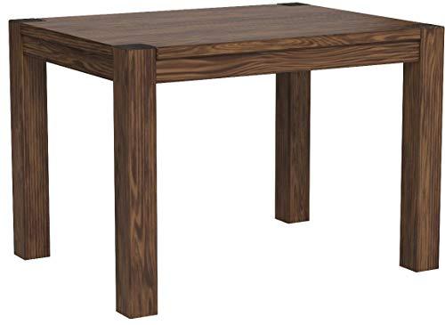 Naturholzmöbel Seidel Esstisch Küchentisch,Rio Bonito, 100x70cm, Pinie Massivholz, geölt und gewachst, Tisch Cognac braun, Optional erhältlich: passende Bänke