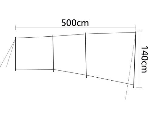 bo camp brise vent stabile 3 compartiments 5 1 4. Black Bedroom Furniture Sets. Home Design Ideas