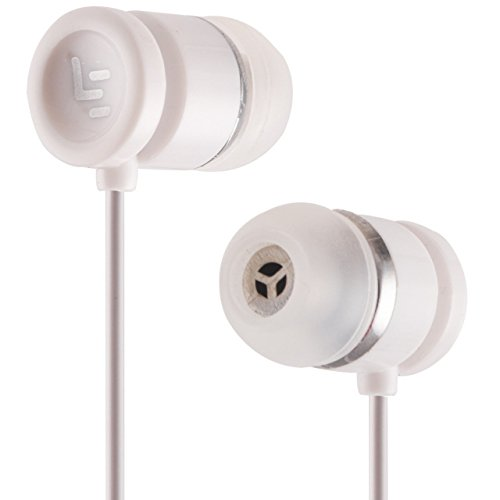 MOBILZA Type-C Plug-in-Ear Earphones,Super Sound Wired Headset Compatible with Smartphones Having Type C Earphone Jack White Image 6