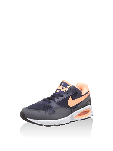 Nike Air Max St, Chaussures de course femme Azul Marino (Obsidian / Snst Glow-Drk Gry-Blk)