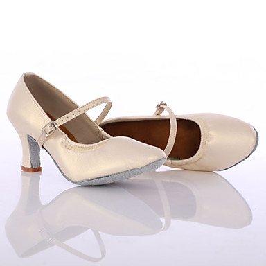 Aemember donna scarpe da ballo latino / Dance Sneakers tacchi tacco basso interni / Prestazioni izable nero Cream,US5.5 / EU36 / UK3.5 / CN35