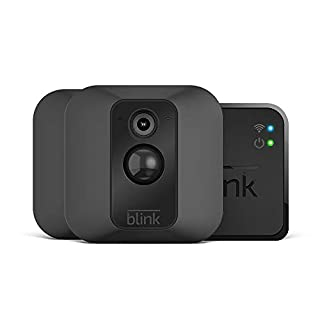 Blink XT Home Security Camera System with Motion Detection, Wall Mount, HD Video, 2-Year Battery Life and Cloud Storage Included - 2-Camera Kit