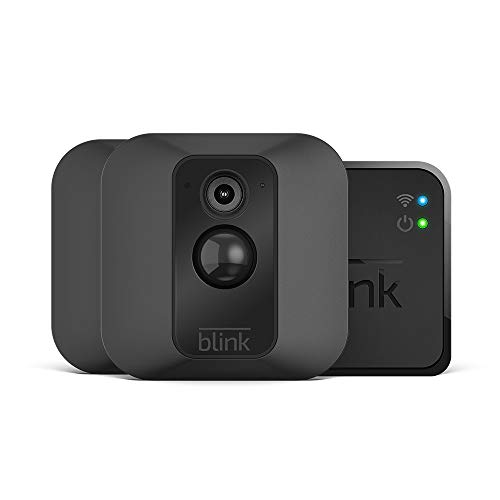 Blink XT System für Videoüberwachung, mit Bewegungserkennung, Befestigungsset, HD-Video, 2Jahre Batterielaufzeit, inkl. Cloud-Speicherdienst, Zwei-Kamera-System - Security-kameras Infrarot-system
