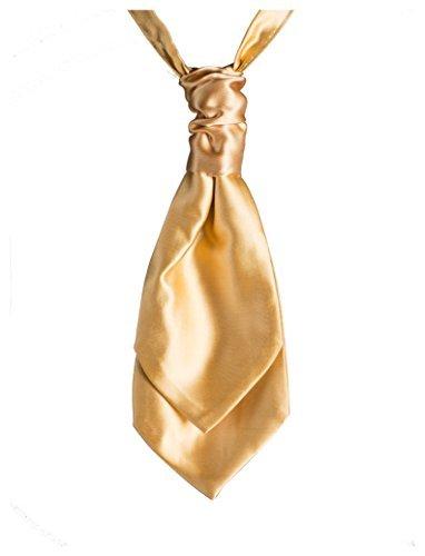 Paisley de Londres et foulards cravates, en bandes pour homme Doré