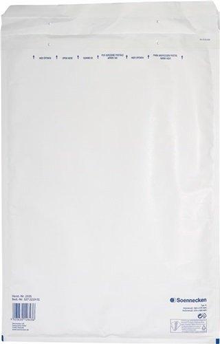 NORDWEST Handel AG Soennecken Luftpolstertasche 2335 Größe K/7 weiß 50 St./Pack