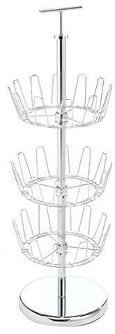 Polder 6245-05 Chrome Revolving Shoe Tree by Polder